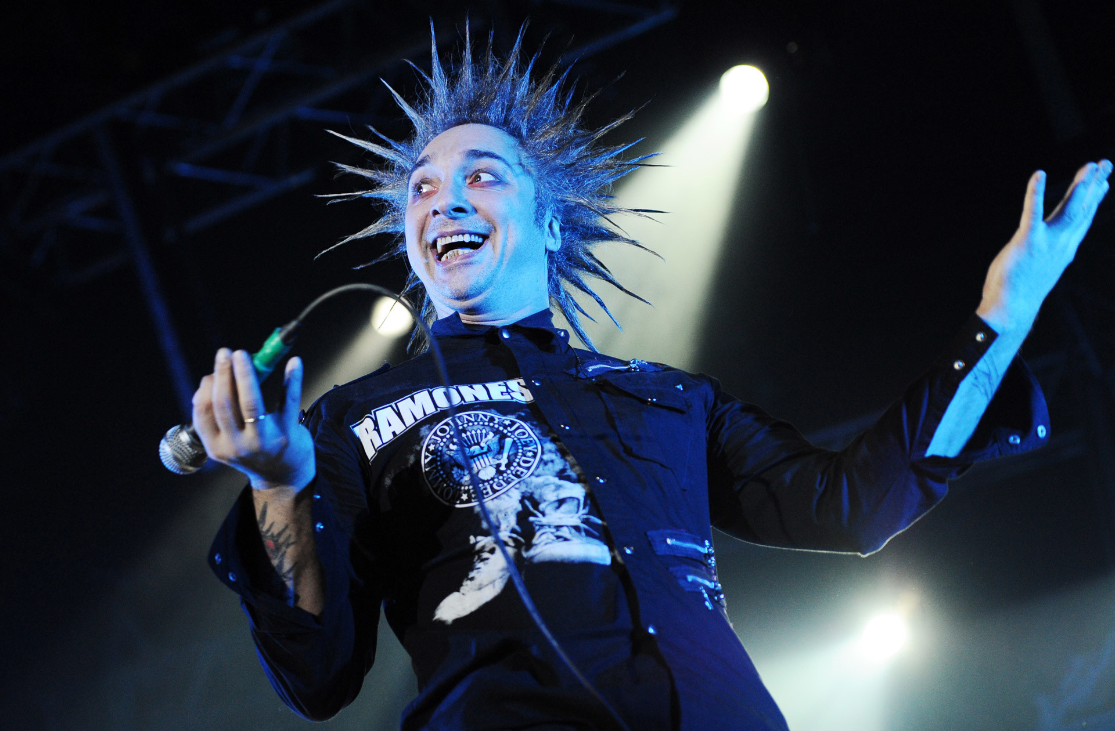 Михаил Горшенев из популярного панк-коллектива Король и Шут