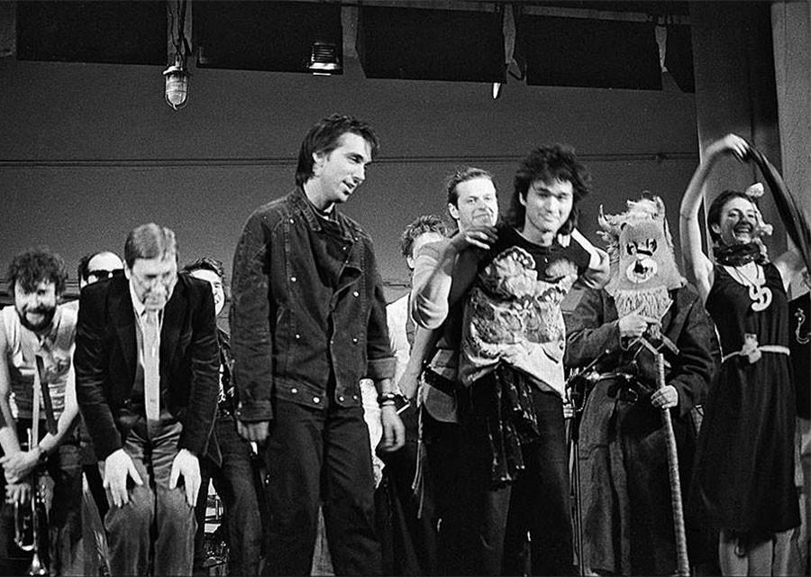 Русская рок группа 80 х годов