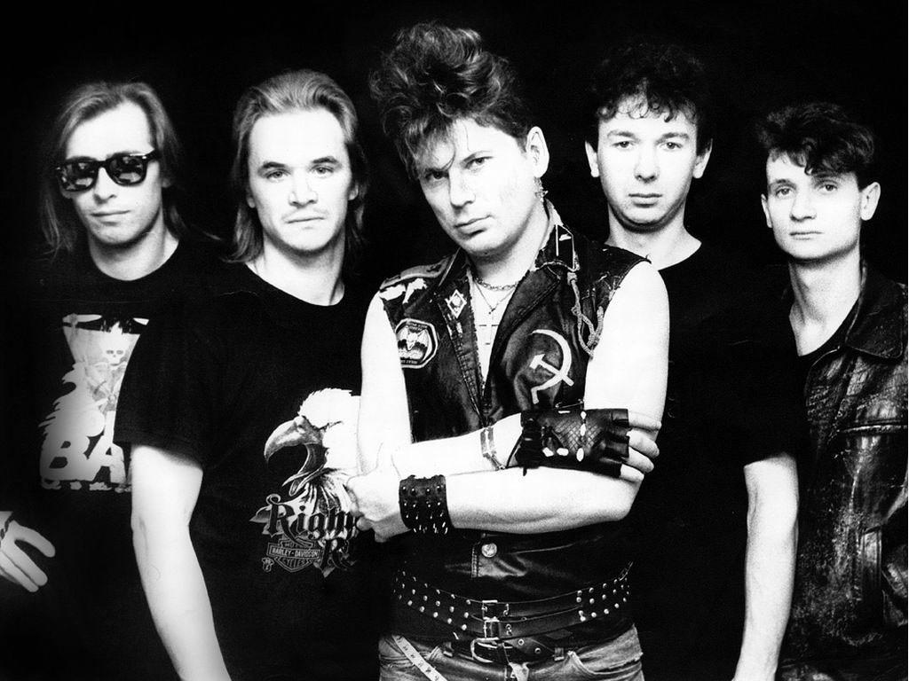 Популярные русские рок-группы