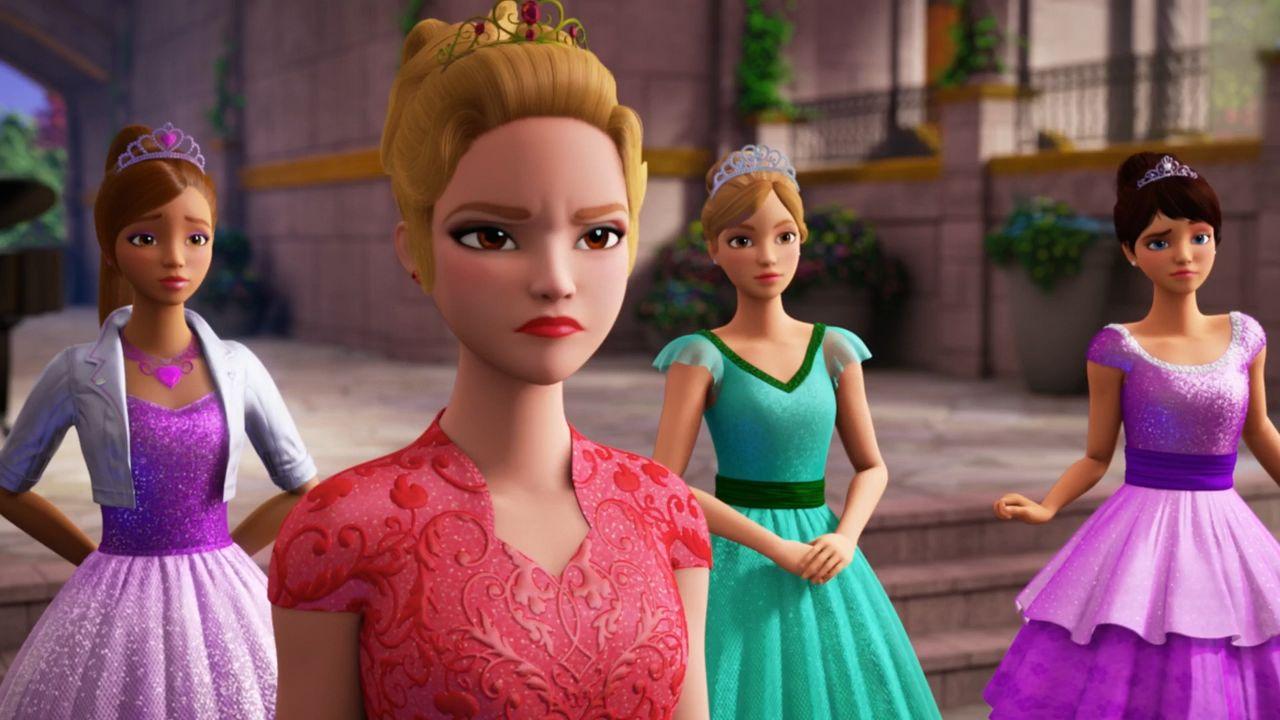 Мультфильм Барби: Рок-принцесса