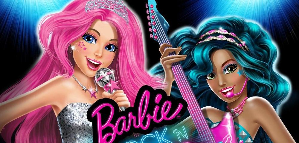 Мультфильм Барби Рок-принцесса