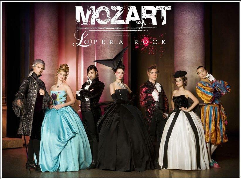 Рок-опера Моцарт